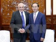 Chủ tịch nước: Đẩy mạnh hợp tác công nghệ cao Việt Nam-Israel