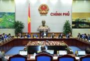 Chính phủ họp phiên thường kỳ tháng đầu năm 2018