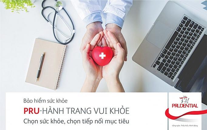 Bảo hiểm bổ trợ Bảo vệ sức khỏe PRU – HÀNH TRANG VUI KHỎE