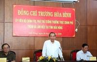 pho thu tuong thuong truc chinh phu lam viec tai dak nong