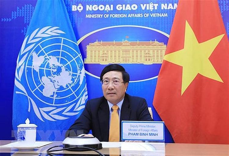 Phó Thủ tướng, Bộ trưởng Ngoại giao dự Phiên thảo luận của Hội đồng Bảo an LHQ