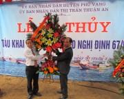 Thừa Thiên Huế: Hạ thủy tàu vỏ gỗ đầu tiên theo Nghị định 67