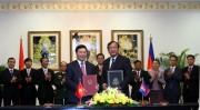 Việt Nam, Campuchia quyết tâm sớm hoàn thành phân giới cắm mốc