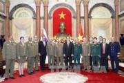 Lãnh đạo Đảng, Nhà nước tiếp Đoàn đại biểu cấp cao Cuba