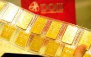 Giá vàng tăng vọt đầu tuần