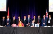 Thủ tướng chứng kiến mở đường bay mới Việt Nam - Australia