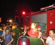 Thừa Thiên Huế: Cháy chợ cũ khi chưa kịp chuyển sang chợ mới