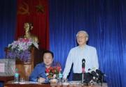 Tổng Bí thư Nguyễn Phú Trọng làm việc tại Cao Bằng