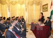 Hoạt động của Chủ tịch Quốc hội Nguyễn Thị Kim Ngân tại Hungary