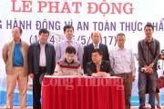 Quảng Ninh phát động 'Tháng hành động vì an toàn thực phẩm'