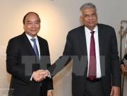 Thủ tướng Sri Lanka và phu nhân thăm chính thức Việt Nam