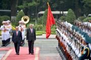 Hình ảnh Lễ đón chính thức Thủ tướng Sri Lanka