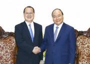 Thủ tướng tiếp Chủ tịch Phòng Thương mại Hong Kong-Việt Nam