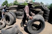 Hiểm họa từ lốp tái chế