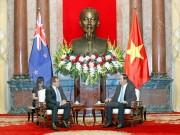 Chủ tịch nước Trần Đại Quang tiếp Bộ trưởng Ngoại giao New Zealand