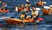 Dịch vụ chèo Kayak và chèo đò được hoạt động tại 5 tuyến, 8 điểm trên vịnh Hạ Long