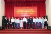 Hòa Bình nhận Giải thưởng Công trình xây dựng chất lượng cao