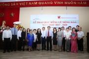 Tập đoàn Xây dựng Hòa Bình trao 37 suất học bổng Lê Mộng Đào cho sinh viên kiến trúc