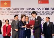 Thủ tướng: Nhiều cơ hội hợp tác mở ra cho các DN Việt Nam -Singapore