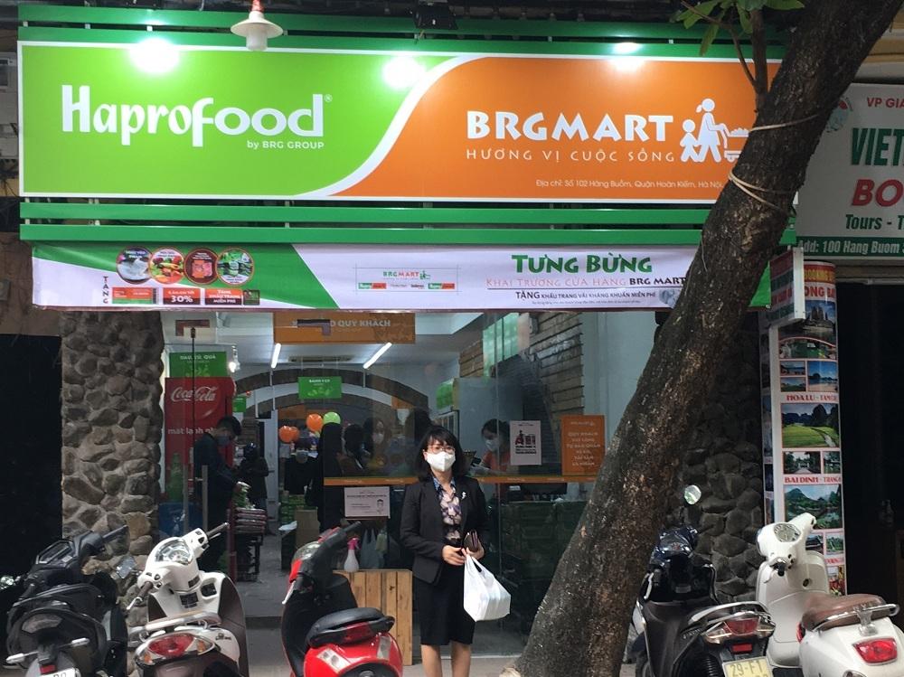 brg mo them 9 cua hang ban le hapro food thuoc chuoi brgmart va chinh thuc trien khai ung dung brg shopping