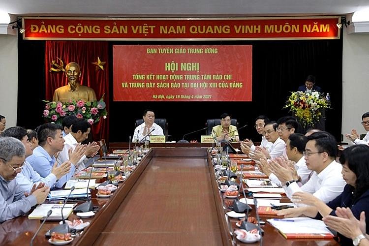 Sự chủ động của Trung tâm Báo chí góp phần vào thành công của Đại hội XIII