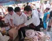 Thừa Thiên Huế: Khó kiểm soát chất lượng gà đông lạnh nhập ngoại