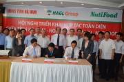 Ký MOU về phát triển năng lượng giữa tỉnh Quảng Trị và DN Thái Lan