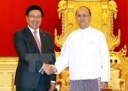 Myanmar coi trọng hợp tác truyền thống nhiều mặt với Việt Nam