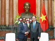 Chủ tịch nước Trần Đại Quang tiếp Bộ trưởng Phủ Tổng thống Madagascar