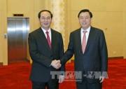 Chủ tịch nước hội kiến lãnh đạo Nhân đại Trung Quốc