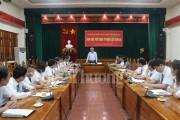 Đoàn Đại biểu Quốc hội tỉnh Sơn La làm việc với Công ty Điện lực Sơn La