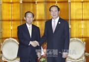 Chủ tịch nước gặp Thủ tướng Pakistan, Tổng Thư ký Đảng Dân chủ Tự do Nhật Bản