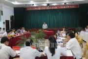 Tỉnh ủy Quảng Ninh làm việc với Đảng ủy Than Quảng Ninh về nhiệm vụ năm 2017