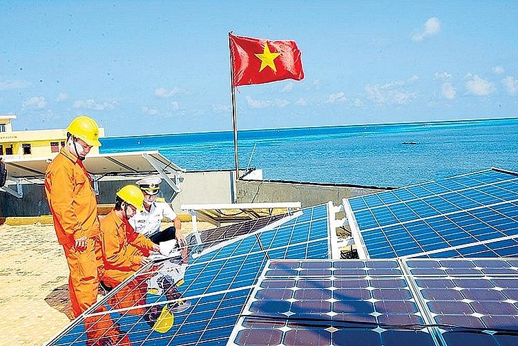 cấp điện nông thôn, miền núi và hải đảo đạt chất lượng