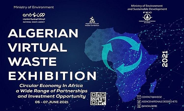 Mời tham dự Triển lãm quốc tế trực tuyến quản lý rác thải của Algeria