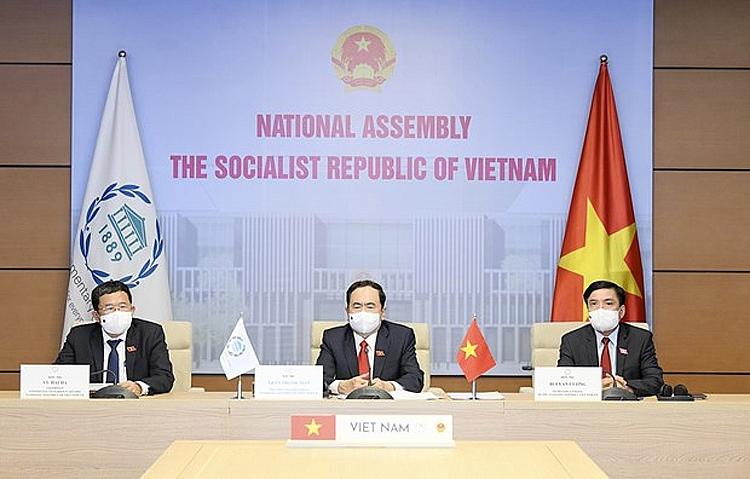 Phó Chủ tịch Thường trực Quốc hội Việt Nam Trần Thanh Mẫn dự khai mạc Đại hội đồng Liên minh Nghị viện Thế giới (IPU) lần thứ 142