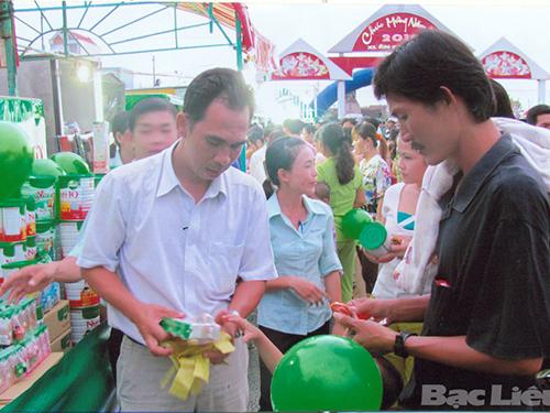 Hội chợ hàng Việt Nam tại Cà Mau