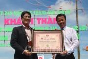 Con đường thuyền thúng độc đáo xác lập kỷ lục Việt Nam
