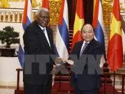 Thủ tướng Nguyễn Xuân Phúc tiếp Chủ tịch Quốc hội Cuba