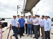Phó Thủ tướng Trịnh Đình Dũng thị sát hạ tầng giao thông ĐBSCL