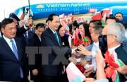 Chủ tịch nước gặp gỡ đại diện cộng đồng Việt Nam tại Belarus