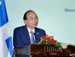 Thủ tướng Nguyễn Xuân Phúc dự Tọa đàm doanh nghiệp Việt Nam-Canada
