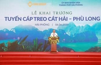 sun group khai truong tuyen cap co tru cap treo cao nhat the gioi