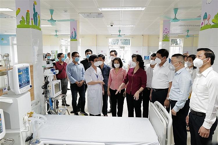 Sự kiện Sun Group bàn giao Trung tâm ICU cho Bắc Ninh (11)