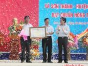 Xã Sơn Thành - Huyện Yên Thành (Nghệ An): Điểm sáng nông thôn mới
