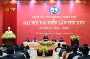 Thủ tướng chỉ đạo Đại hội Đảng bộ Văn phòng Chính phủ