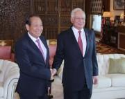 Phó Thủ tướng Thường trực Chính phủ chào xã giao Thủ tướng Malaysia