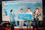 Nhóm Btaskee và nhóm Mojitok dành giải thưởng Cuộc thi thuyết trình ý tưởng khởi nghiệp