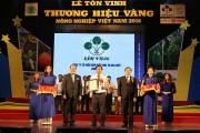 Supe Lâm Thao: Thương hiệu vàng Nông nghiệp Việt Nam năm 2016
