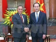 Chủ tịch nước Trần Đại Quang tiếp Bộ trưởng Quốc phòng Indonesia